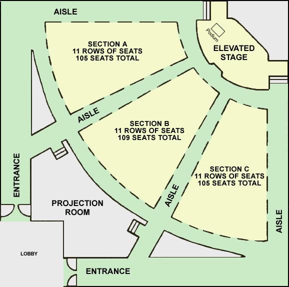 Auditorium Management Education Center Eli Broad