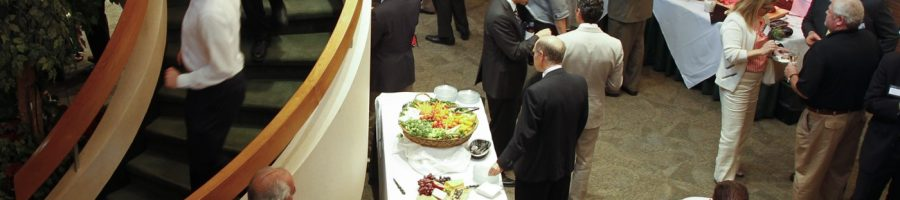 Professional reception, special events, meetings